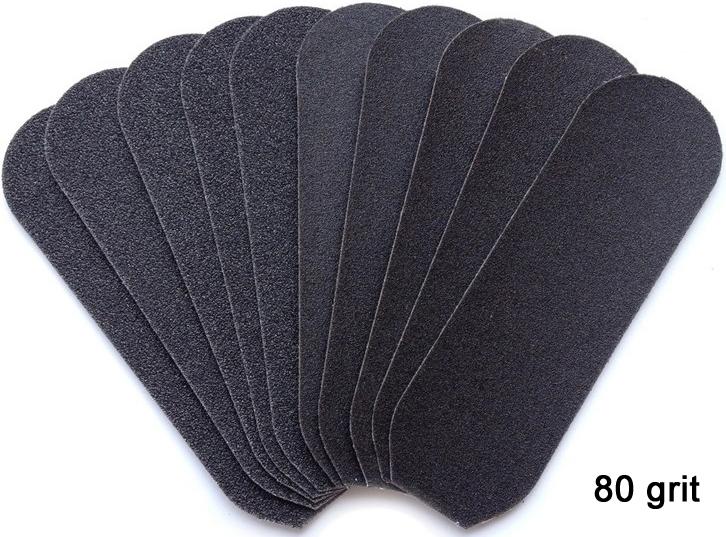 Naglar Refill slipytor för Rostfri Fotfil Hygien System 80 grit - 20 st