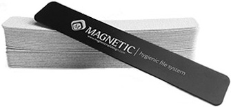 Naglar Eng�ngs XXL Flexi Long Lasting Zebra 180 grit - Hygien System - 50 st