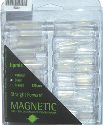 Naglar Straight Forward Clear - 120 st