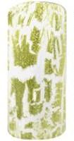 Naglar Craquer Lacquer Green Glitter - 15 ml