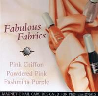 Naglar Fabolous Fabrics - 3 st 15 ml nagellacker