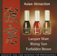 Naglar Asian Attraction - 3 st 15 ml nagellacker