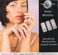 Naglar Pastel Metallics - 3 st 15 ml nagellacker