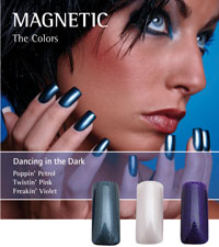 Naglar Dancing in the Dark - 3 st 15 ml nagellacker