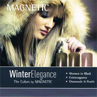 Naglar Winter Elegance - 3 st 15 ml nagellacker