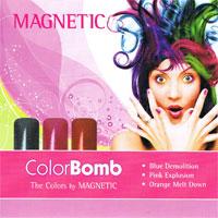 Naglar Color Bomb - 3 st 15 ml nagellacker