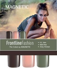 Naglar Front Line Fashion Collection - 3 st 15 ml nagellacker
