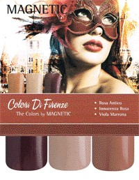 Naglar Colori di Firenze Collection - 3 st 15 ml nagellacker