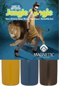 Naglar Jungle Boogie Collection - 3 st 15 ml nagellacker