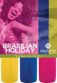 Naglar Brazilien Holiday Collection - 3 st 15 ml nagellacker
