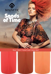 Sands of Time Collection - 3 st 15 ml nagellacker