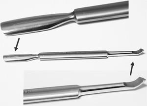 Naglar Metal Cuticle Pusher Pemium