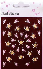 Naglar Nail Art Sticker - 105