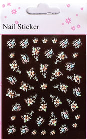 Naglar Nail Art Sticker - 106