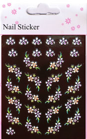 Naglar Nail Art Sticker - 110