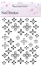 Naglar Nail Art Sticker - 176
