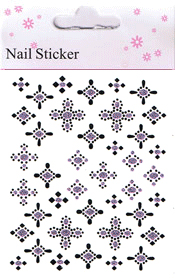 Naglar Nail Art Sticker - 177