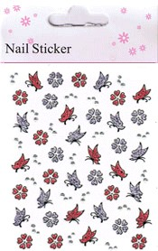 Naglar Nail Art Sticker - 179