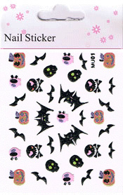 Naglar Halloween Sticker - 186