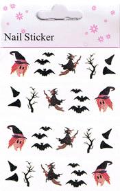 Naglar Halloween Sticker - 187