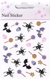Naglar Halloween Sticker - 188