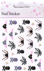 Naglar Halloween Sticker - 190