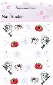 Naglar Halloween Sticker - 191