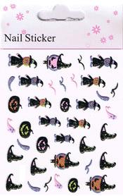 Naglar Halloween Sticker - 192
