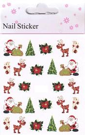 Christmas Nail Art Sticker  - 13