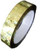 Naglar Dazzling Sticker Tape - Golden