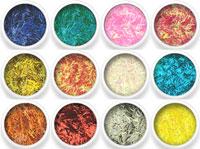 Naglar Nail Art Lines - 12 färger i en förpackning