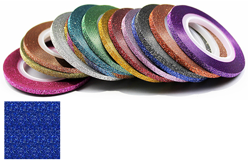Naglar Striping Glitter Tape - 2 mm bred