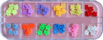 Naglar Fimo Flower Kit 2 - 60 st