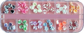 Naglar Fimo Flower Kit 3 - 60 st