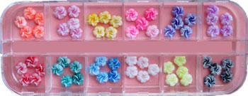 Naglar Fimo Flower Kit 8 - 60 st