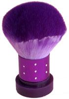 Naglar Dust Brush - Mellan Stor Lila