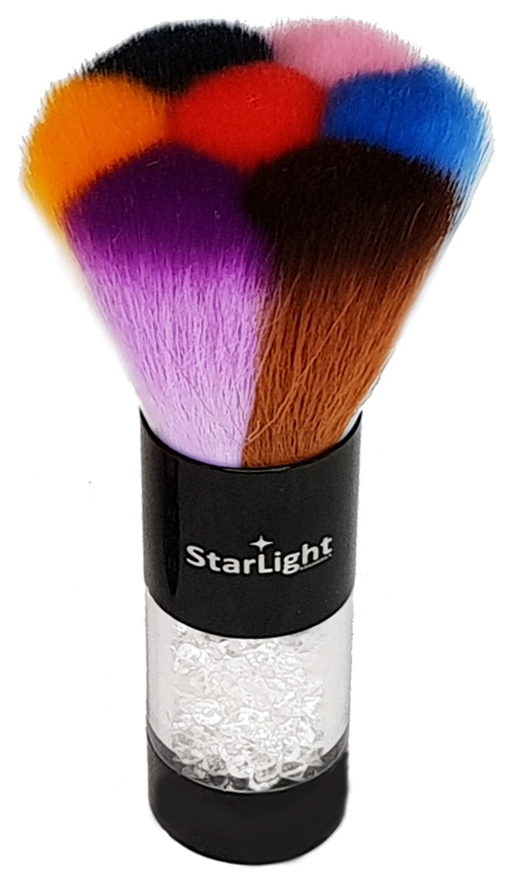 Naglar Dust Brush - Stor Mixed Colors