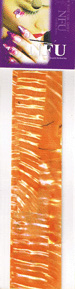 Naglar Shell Sheet - Zebra Orange