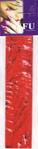 Naglar Shell Sheet - Zebra Red