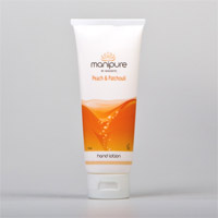 Manipure Hand & Body Lotion Peach & Patchouli - 110 ml