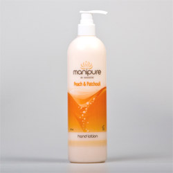 Manipure Hand & Body Lotion Peach & Patchouli - 470 ml