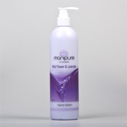 Manipure Hand & Body Lotion Lavender & Wild Flower - 470 ml