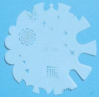 Naglar Air Brush Stencil - STL 311
