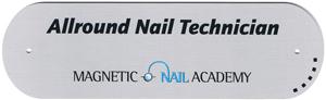 Naglar Aluminium Skylt - Allround Nail Technician