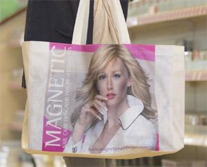Naglar Shopping väska i tyg