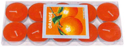 Naglar Aroma Ljus - Orange