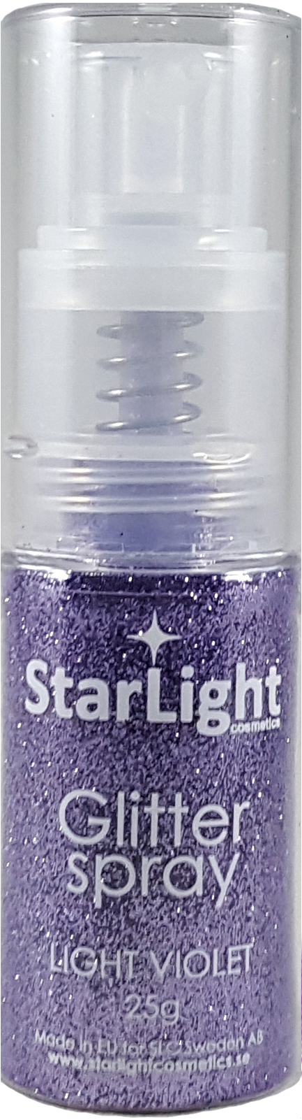 Naglar Glitter Spray Light Violett - 25 gram