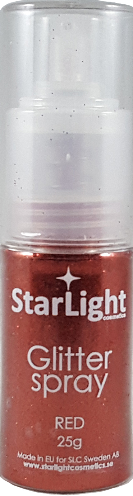 Naglar Glitter Spray Red - 24 gram