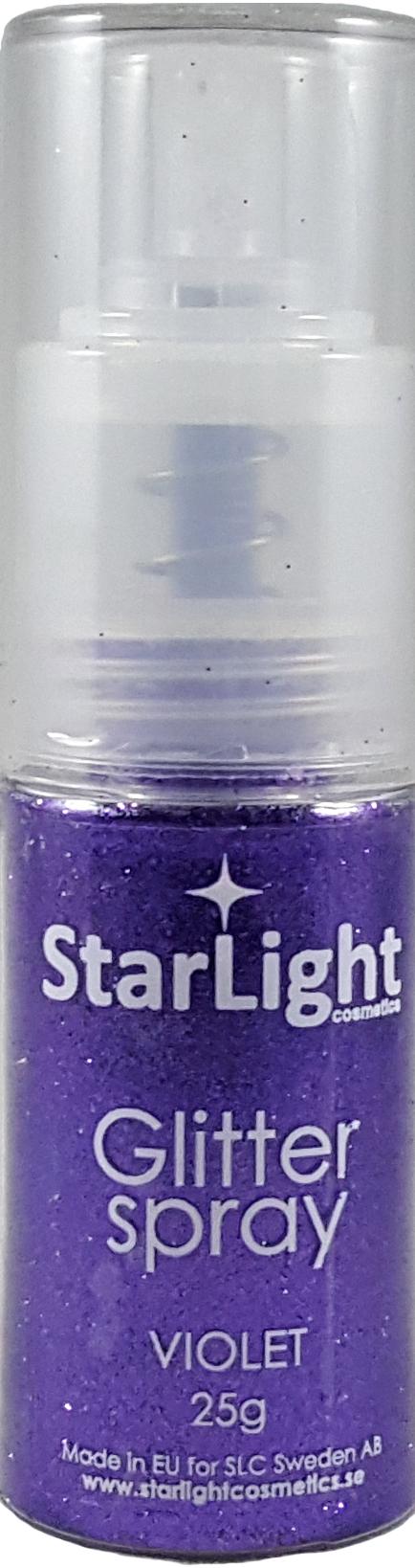 Naglar Glitter Spray Violett - 24 gram