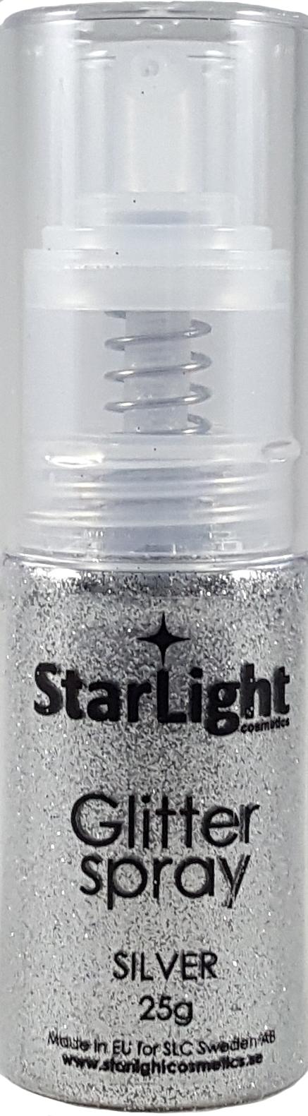 Naglar Glitter Spray Silver - 25 gram